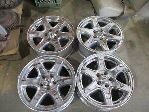 03 04 Jeep Liberty 17x7 Chrome Spoke 6 Spoke Alum Alloy 5 Lug 09045