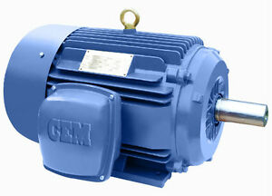 Premium Efficent Cast Iron Ac Motor 2hp 3600rpm 145t 3phase Tefc 1 Yr Warranty