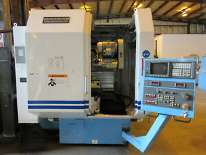 Huffman 5 Axis Cnc Grinding System Model Hs 155r