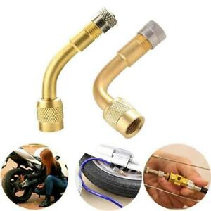 Air Tyre Valve Extension 45 135 Angle Adaptor Motorcycle Car Tire Stem Extender