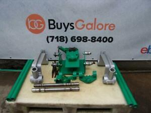 Greenlee Bending Table 1802 For 885 884 777 880 Hydraulic Bender Great Shape