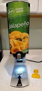 Gehl s Cheese Sauce 2 0 Retail Dispenser warmer Jalepeno fast Free Shipping