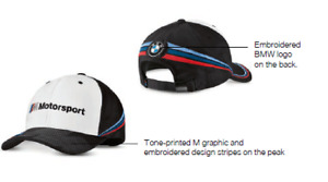 Bmw M Motorsport Cap Collector S Black White 80162461127