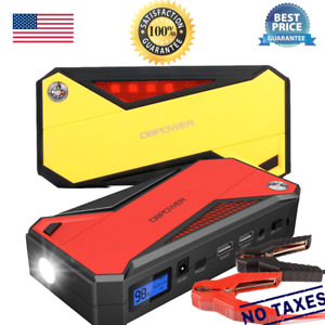 Dbpower 600a 18000mah Portable Car Jump Starter Battery Booster Phone Charger