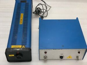 Liconix Helium Cadmium Laser 4210n 0001 With Power Supply 4200 220b Used