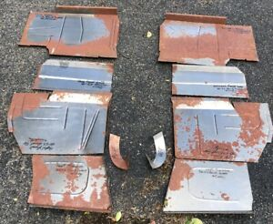 1950 1951 1952 1953 Buick Cadillac 10 Piece Floor Pan Set 50 51 52 53