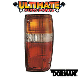 black Trim Tail Light Lamp right Side For 84 88 Toyota Pickup