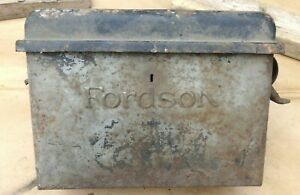 1926 1927 Fordson Tractor Coil Box W Lid Original Ford