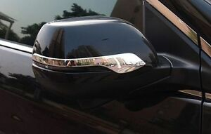 Abs Chrome Rearview Strip Side Mirror Cover Trim For Honda Cr V Crv 2012 2016