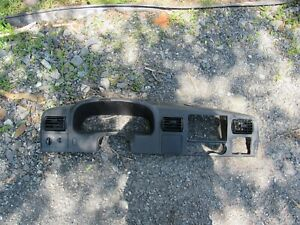 05 07 Ford F250 F350 F450 Speedometer Surround Dash Bezel Super Duty Oem Black