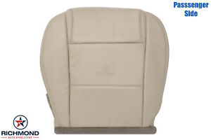 2005 2009 Ford Mustang V6 Passenger Side Bottom Leather Seat Cover Tan