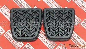 Toyota Scion Clutch Brake Pedal Pad Set Of 2 Genuine Oem 31321 52010