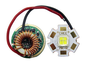 Cree Mk r Mkr Led Driver 6v Mk r White Led Chip Light 20mm 6v Diy