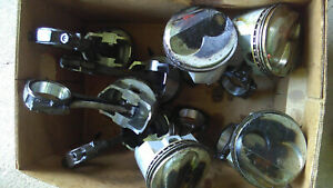 Sbc 408 8 Forged Pistons Hi Dome And Sbc 400 5 585 Rods