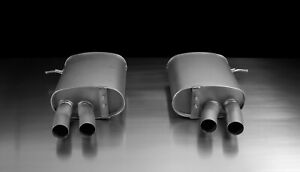 Remus Exhaust For Bmw 335 Axle Back Quad Carbon Tips