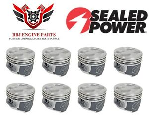 8 Sealed Power Ford Car Truck 302 5 0 5 0l Ho Pistons 1977 1995
