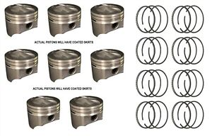 Sealed Power Ford Truck 302 5 0 5 0l Pistons And Hastings Rings 1987 1992