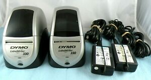 Lot Of 2 Dymo Labelwriter 330 Label Printers Tested Working