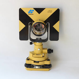 New Topcon Type Single Prism Tribrach Set System For Total Station