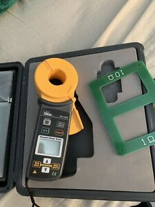 Ideal 61 920 Ground Resistance Clamp Meter Case Excellent Condition