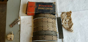 1928 1934 Model A Ford Aa Truck Service Brake Lining Parts