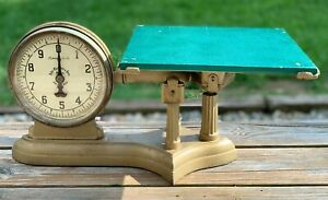 Vintage Antique John Chatillion Son S Series 32 Market Scale 10lb Capacity