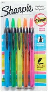 San28175pp Sharpie Retractable Highlighters
