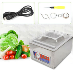 Commercial Vacuum Sealer System Food Saver Sealing Machine Storage Packing 120w