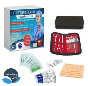 Medical Suture Training Pad Tool Student Practice Kit Wound Surgical Human Skin