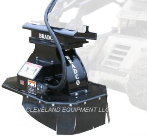 New Bradco Sg15 Mini Stump Grinder Attachment Vermeer Mini Skid Steer Loader