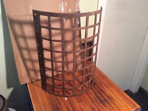 Antique Cast Iron Tractor Front Grill
