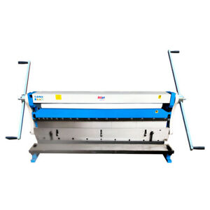 Toolots 52 X 20 Gauge Combination 3 in 1 Shear Brake And Slip Roll Machine