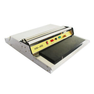 Food Tray Film Wrapper Wrapping Machine 18 450mm Packaging Sealer