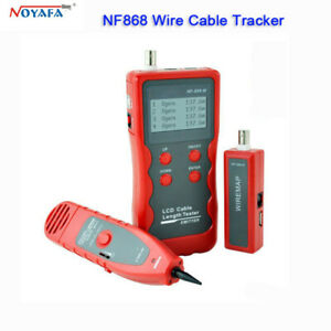 Nf868 Lcd Network Lan Cable Tester Tracker For Rj45 Rj11 Telephone Wire Tracker