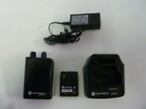 Motorola Minitor V 462 469 9 Mhz Uhf Stored Voice Fire Ems Pager With Charger