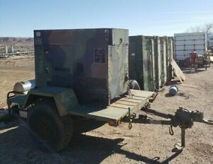 15kw Mep 804a Diesel Military Emp Proof Tactical Generator Trailer Included