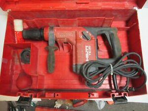 Used Hilti Te35 Rotary Hammer Drill With Accessories