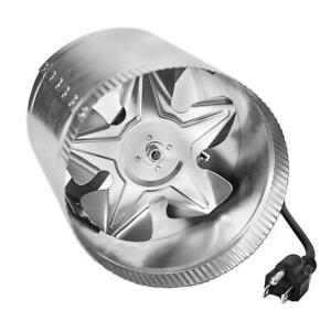 Ipower 6 Inch 240 Cfm Booster Fan Inline Duct Vent Blower For 6
