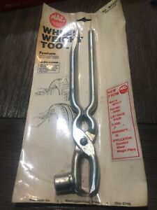 Nos Mac Tools Wheel Weight Tool Plier Hammer Wp7217