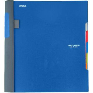 Five Star Advance Spiral Notebook 5 Subject College Ruled Paper 200 Sheets