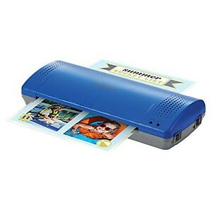 Swingline Inspire Plus Thermal Blue Laminator With 5 Pouches Laminates Up T