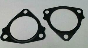 Triangle 2 1 4 Id Turbo Exhaust 3 Bolt Gasket Black 0125 Thick Pack Of 2