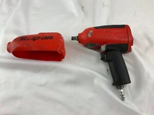 Snap On Tools 1 2 Dr Heavy Duty Impact Air Wrench Mg725 With Boot