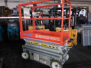 Scissor Lift Skyjack Ii 3015 Man Lift Used