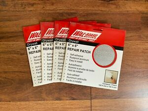 Lot Of 4 Wal board Tools 54 006 6 X 6 Drywall Patch