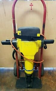 Bosch Brute Demolition Jackhammer W 3 Chisels And Dolly