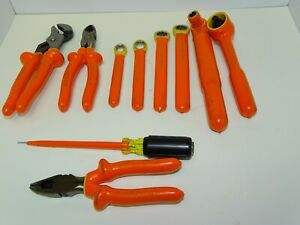 Cementex Insulated Electrical Tool Set 55 Piece Kit With Klein Tools Back Pack