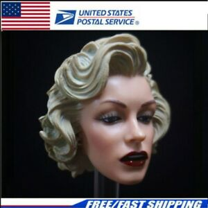 1 6 Marilyn Monroe Head Sculpt 2.0 Painted for 12quot; PHICEN Hot Toys Female $19.90