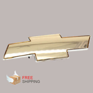 Fits To Chevy Silverado 1999 2006 Grille Emblem Front Grill Gold Badge Us Ship