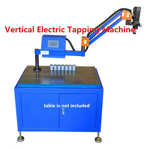 220v Flexible Electric Tapping Machine Arm Vertical Type M3 m12 1200mm T